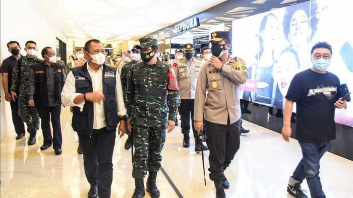 Forkopimda Jatim Sidak Mall Tunjungan Plaza Surabaya, Perbolehkan Belanja Asal Tertib Prokes