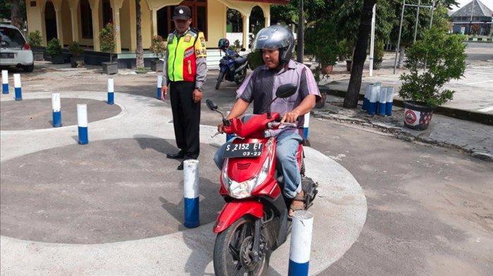 Polisi Tuban Punya 'Simba', Program Latihan Persiapan Ikut Praktik Ujian SIM
