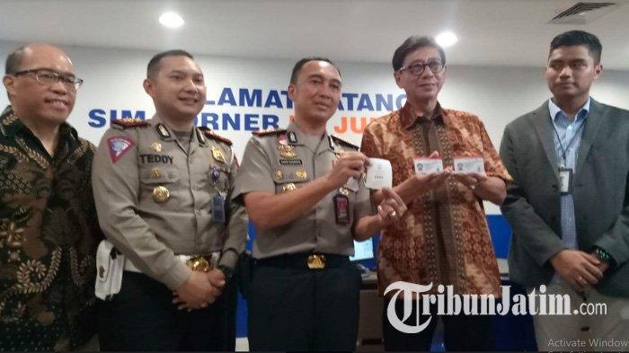 Layanan SIM Capai 1500 Pemohon, Polrestabes Surabaya Buka SIM Corner di Mall BG Junction