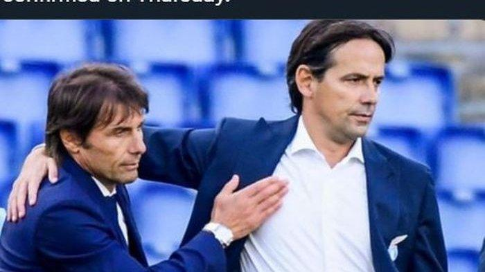 Simone Inzaghi Setuju Gantikan Conte di Inter Milan, Hari Ini akan Diresmikan
