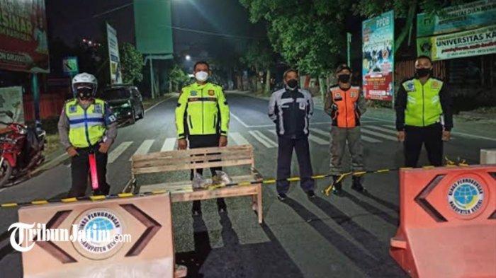 Cegah Kerumunan Saat Malam Takbiran, Simpang Lima Gumul Kabupaten Kediri Ditutup 17.00-24.00 WIB