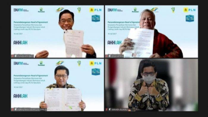 Amankan Pasokan Biomassa: Sinergi 3 BUMN Wujudkan Indonesia yang Lebih Ramah Lingkungan