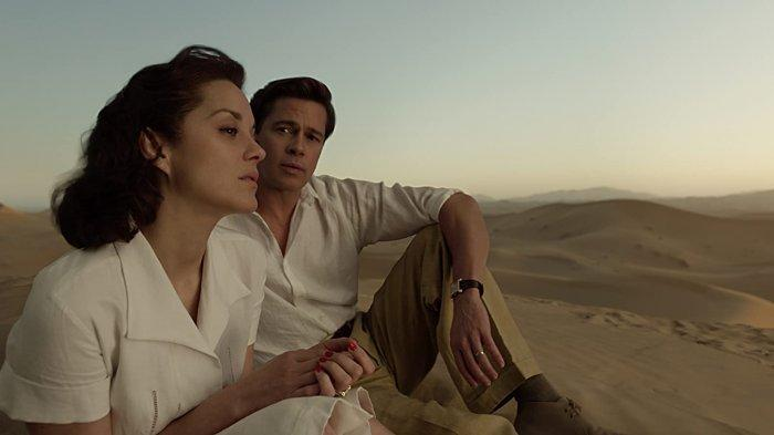 Sinopsis Film Allied, Dibintangi Brad Pitt & Marion Cotillard, Malam Ini di Trans TV Pukul 21.30 WIB