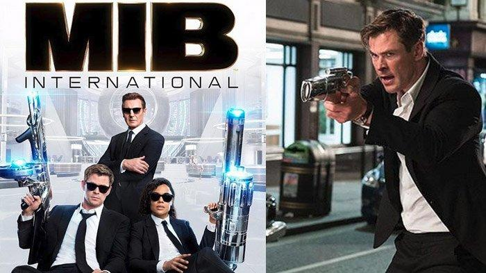 Sinopsis Film Men in Black: International, Dibintangi Chris Hemsworth, Malam Ini di Bioskop Trans TV