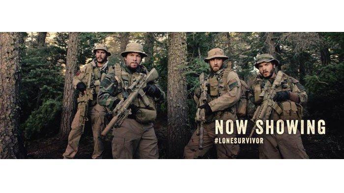 Sinopsis Film Lone Survivor, Dibintangi Mark Wahlberg, Malam Ini di Bioskop Trans TV Pukul 19.30 WIB