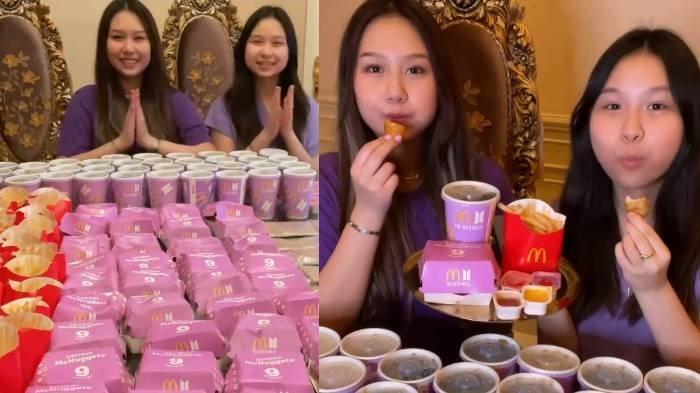 Heboh Sisca Kohl dan Adiknya Borong Puluhan BTS Meal McD, Langsung Dibikin Es Krim, Netizen Protes
