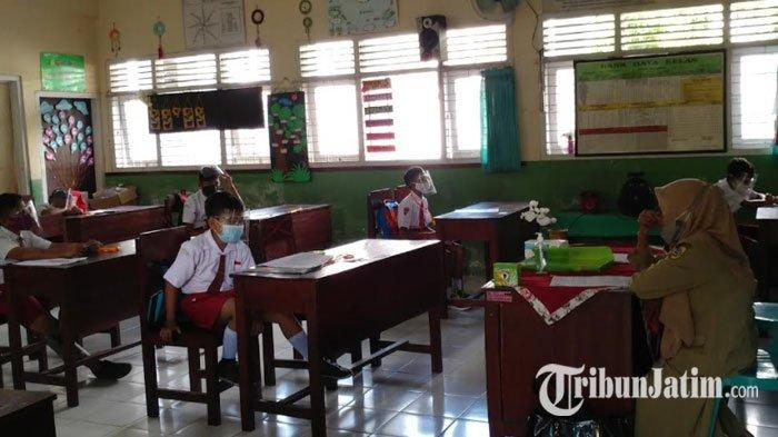 Setahun Belajar Daring, SD di Jember Gelar Ujian Sekolah Tatap Muka