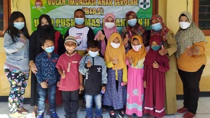Di Tengah Pandemi Covid-19, Pemkot Kediri Gelar Imunisasi Measles Rubella Pelajar SD