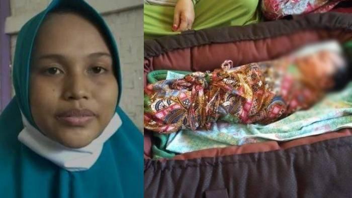 Siti Jainah, ibu yang melahirkan bayi tanpa merasa hamil sebelumnya.