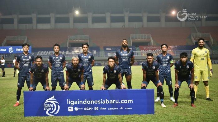 Susunan Pemain Arema FC Vs Persipura Jayapura, Singo Edan Turunkan Tiga Striker Sekaligus