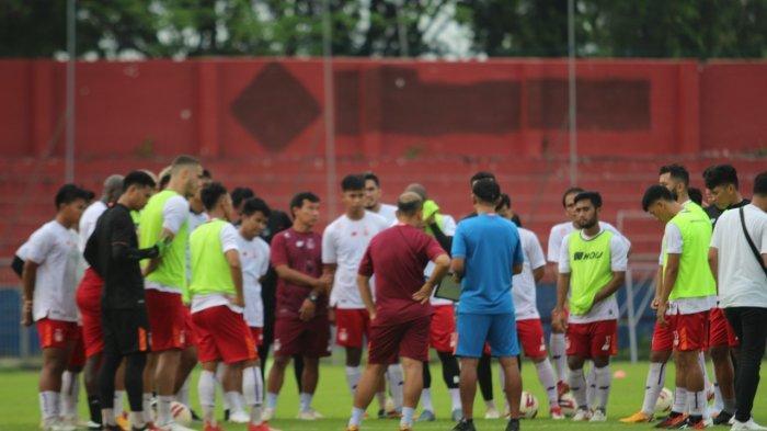 Persik Kediri Jalani Sesi Latihan Terakhir di Stadion Brawijaya Jelang Hadapi Borneo FC