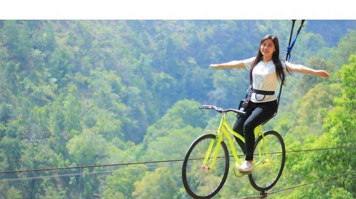 Harga Tiket Masuk Genilangit, Wisata Instagramable di Magetan, Coba Serunya Wahana Sky Bike