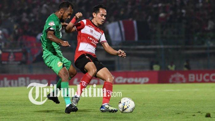 Lawan Bali United di Laga Pamungkas Liga 1 2019, Madura United Tetap Incar Kemenangan