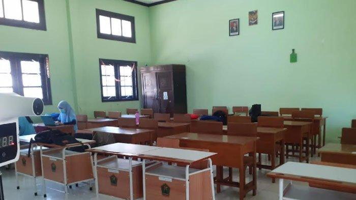 Persiapan PTM Terbatas, Sekolah di Kota Malang Mulai Bebersih dan Pendataan Vaksinasi
