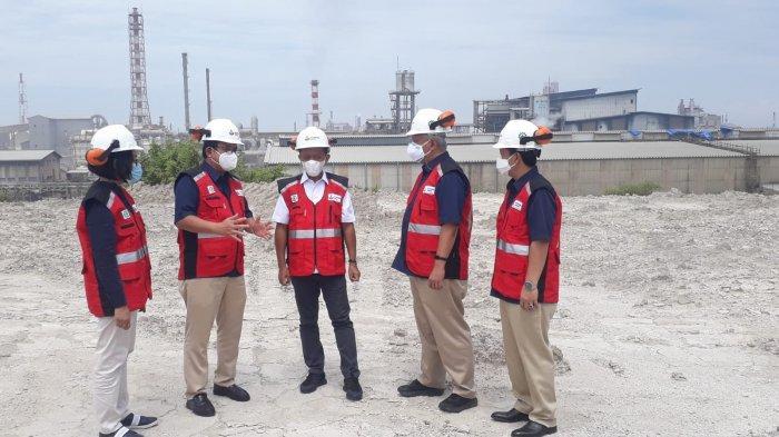 Percepat Pembangunan Pabrik Soda Ash, Menteri Investasi Bahlil Tinjau Lokasi di Petrokimia Gresik