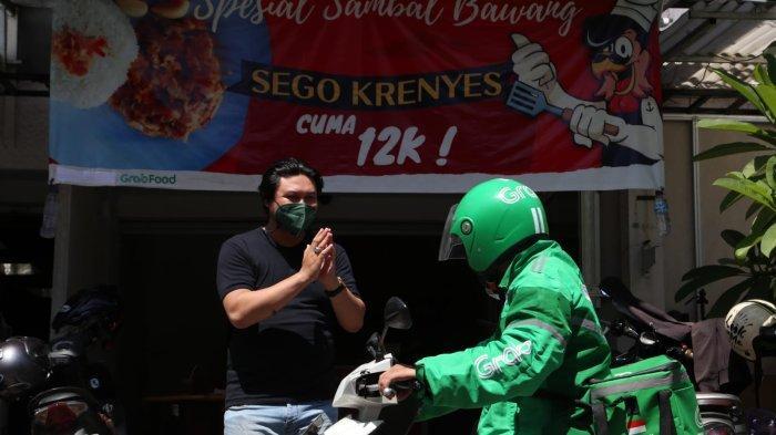 Sempat Kebakaran, Omzet Sego Krenyes Milik Sofwan Adi Melonjak 80% Berkat Online Food Delivery