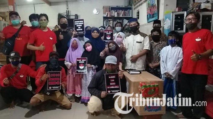 Hari Buruh Internasional, SPBI Gelar Aksi Sosial di Sejumlah Panti Asuhan di Surabaya
