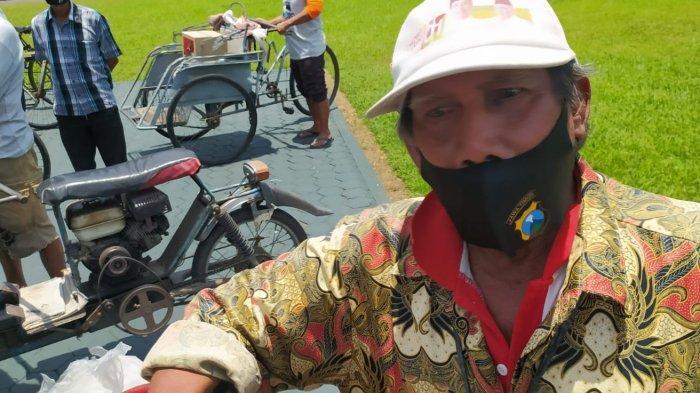 Kisah Kakek Asal Gayungan Surabaya, 25 Tahun Jadi Tukang Beca: Kejujuran Modal Utama Hidup