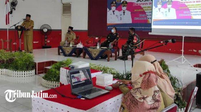 Wali Kota Blitar Santoso Minta Ketua RT Aktif Sosialisasi 'Stop Peredaran Rokok Ilegal'