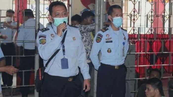 Asimilasi di Rumah Diperpanjang, Rutan Surabaya Sosialisasikan Permenkumham Nomor 24 Tahun 2021