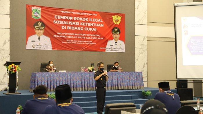 Sosialisasi Rokok Ilegal di Kabupaten Malang Semakin Masif