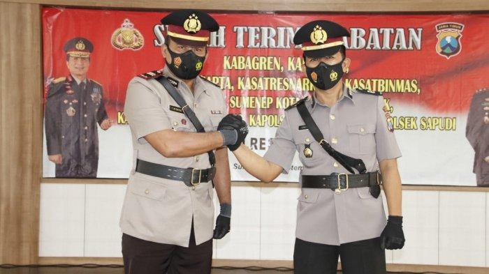 Resmi Jabat Kasat Resnarkoba Polres Sumenep, IPTU Taufik Hidayat Target Tangkap Bandar