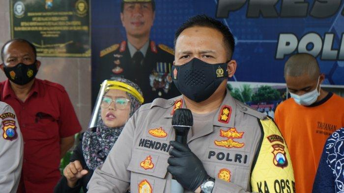 Mengenal Sosok Penerjemah Bahasa Isyarat saat Rilis Polres Malang