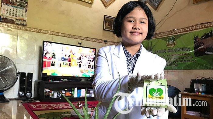 Sosok Sarlita Zahra, Olah Tanaman Lidah Buaya Jadi Produk Kecantikan Ramah Lingkungan