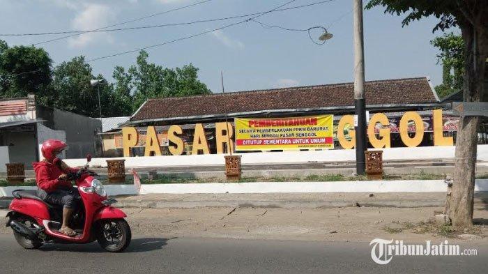 Ikon Wisata Kuliner Pasar Senggol Tulungagung Akhirnya Tutup Sementara Selama PPKM Darurat