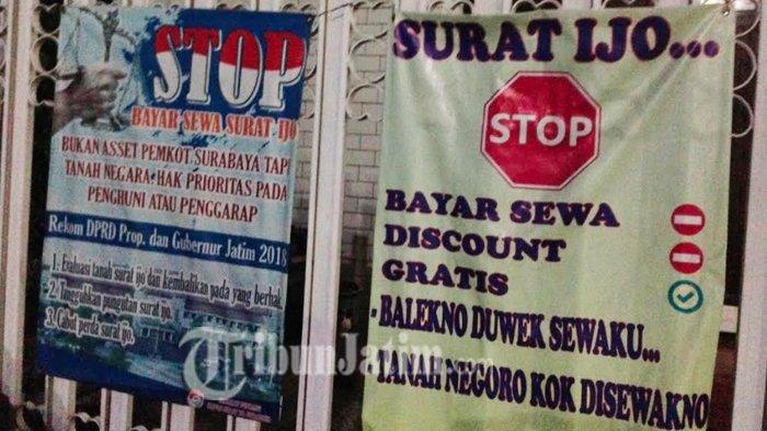 Tri Rismaharini Dituntut Tuntaskan Surat Ijo di Surabaya Sebagai Kado Sebelum Lengser