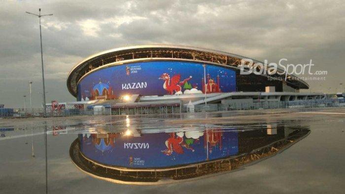 Kuburan bagi Tiga Negara Peraih Gelar Juara Piala Dunia Bernama Kazan Arena