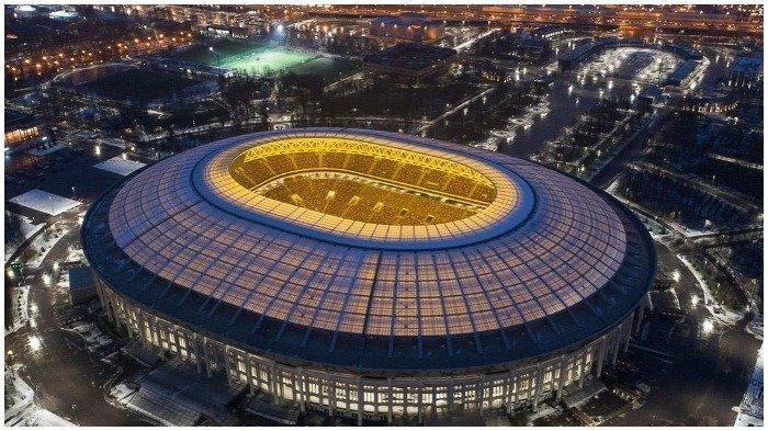 Jadi Lokasi Final Piala Dunia 2018, Berikut 5 Fakta Stadion Luzhniki di Rusia