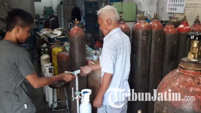 Terjadi Lonjakan Permintaan, Agen Oksigen di Tulungagung Membatasi Penjualan