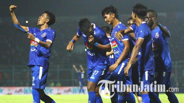 Hasil Arema FC Vs RANS Cilegon FC, Singo Edan Ngamuk, Bantai Klub Raffi Ahmad 6-2