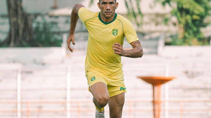Latihan Perdana, Aji Santoso Puji Kualitas Striker Anyar Persebaya Jose Wilkson