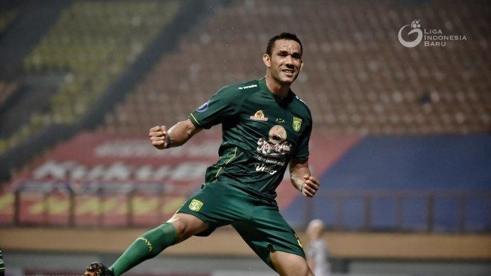 Tampil Apik di Laga Debut, Jose Wilkson Dapat Puiian dari Pelatih Persebaya Aji Santoso