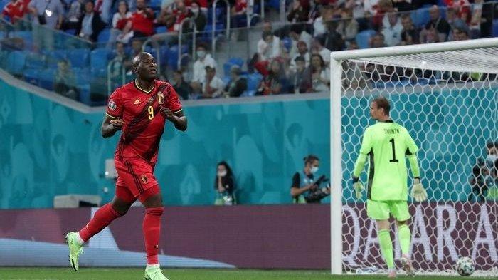 Hasil Euro 2020 - Brace Romelu Lukaku, Bawa Belgia Berjaya di Markas Rusia