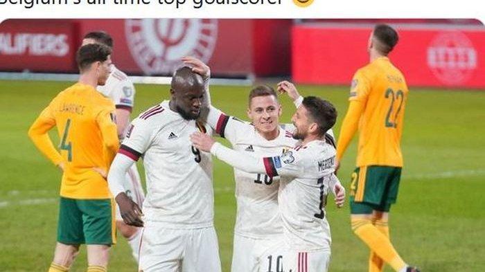 Rilis Skuad Euro 2020, Belgia Diperkuat Bintang Real Madrid dan Mesin Gol Inter Milan