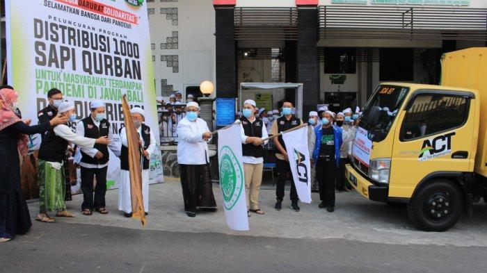 ACT Masifkan Distribusi Kurban dan Operasi Pangan Gratis di Tengah PPKM Darurat