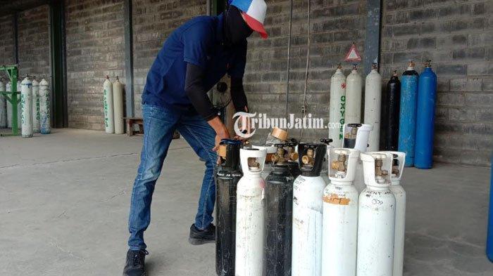 Mulai Besok, Pemprov Jatim Sediakan Pengisian Oksigen Gratis Di Bakorwil Malang