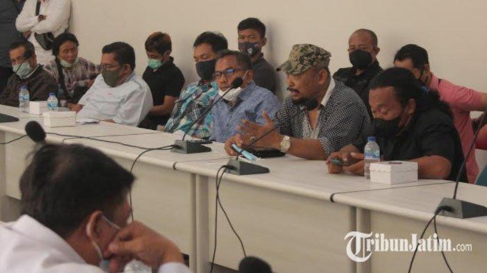Merespon Rencana Aksi Demo PKL, Pemkab Kediri Audiensi Pedagang Kawasan SLG terkait Izin Berjualan