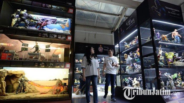 Video Blockbuster Museum Surabaya Hadirkan Koleksi Figure Film Pertama Terbesar Di Asia Tenggara Tribun Jatim