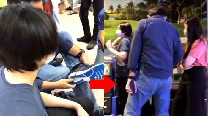 Suasana Canggung Ahok Temani Daud Sang Anak Bungsu Veronica Tan Jadi Sorotan, Tampak Berbeda