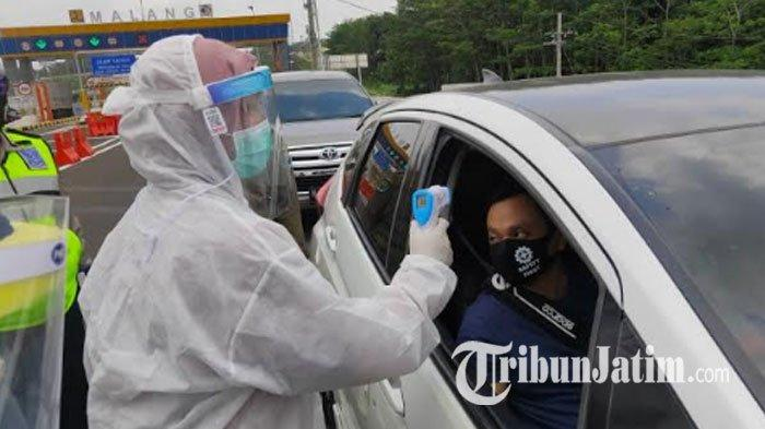 H -1 PSBB Malang Raya, Mobil Berplat Luar Diminta Putar Balik: Kecuali Pengemudi ber-KTP Malang