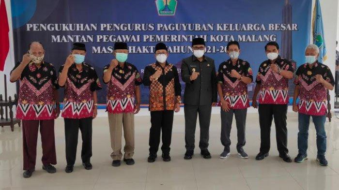 Wali Kota Malang Kukuhkan Keluarga Besar Purna ASN Periode 2021-2025