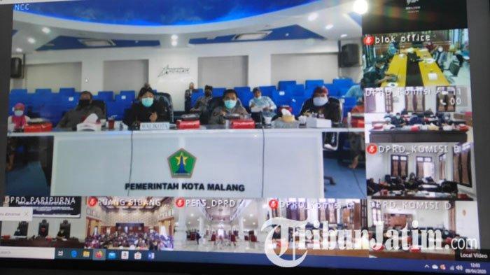 Perdana, Musrenbang dan Rapat Paripurna DPRD Kota Malang Digelar Via Video Conference
