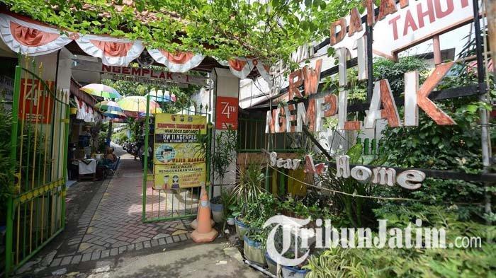 Menengok Kawasan Asri RT 1/RW 11 Ngemplak Surabaya, Ada Tanaman, Kolam Lele Sampai Komposter Loseda