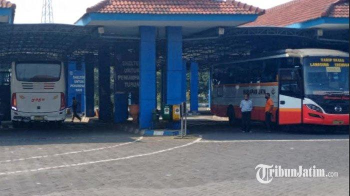 Aktivitas Penumpang di Terminal Kertajaya Kota Mojokerto Meningkat Sejak PPKM Level 3