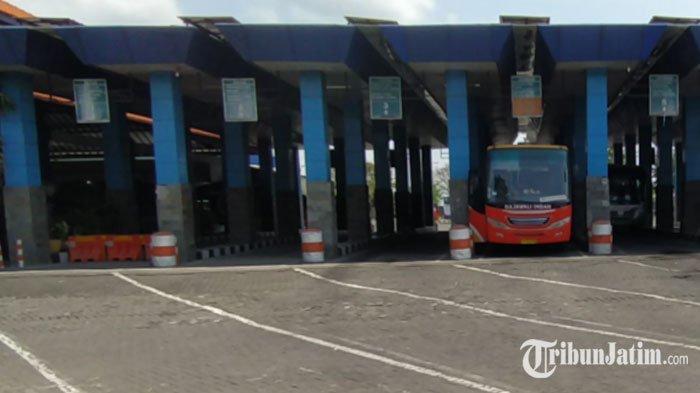 Sepinya Terminal Tambak Osowilangun Jauh Sebelum Larangan Mudik, Bus Operasional Makin Sedikit
