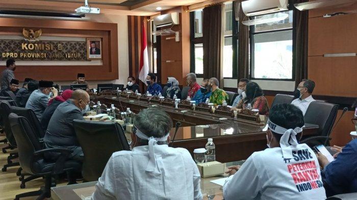 Sambat Harga Telur Anjlok, Peternak Jatim Wadul DPRD ; Minta Perhatian Pemerintah